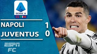 Cristiano Ronaldo & Juve kept quiet as Insigne nets 100th for Napoli | ESPN FC Serie A Highlights