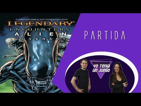 Partida a Covenant (expansión Alien Legendary Encouters) - Yo Tenía Un Juego De Mesa #73