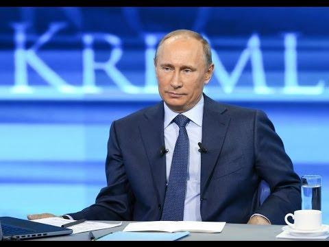 Прямая линия с Владимиром Путиным 17 апреля 2014