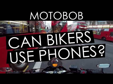 Can Motorcyclists Use Mobile Phones While Riding?