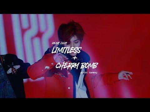 180125 Seoul Music Awards Limitless + Cherry Bomb - TAEYONG focus