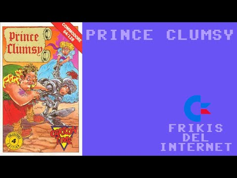 Prince Clumsy (c64) - Walkthrough comentado (RTA)