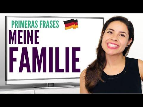 Como describo a mi familia, en alemán/ Primeras Frases/ Encuentro Alemán con Whitney Episodio #4