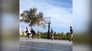 Michael Jordan & Tom Brady Play Basketball in the Bahamas   March 28, 2015