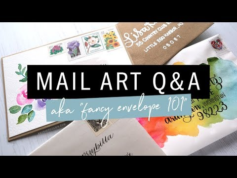 CAN YOU REALLY MAIL THAT? Answering mail art questions + 4 envelopes