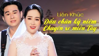 LK Dấu Chân Kỷ Niệm, Chuyến Xe Miền Tây - Phi Nga & Vũ Chí Phong | Song Ca Bolero Mới Nhất 2021
