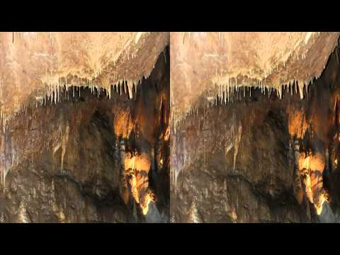3D Video Talking Rocks Cavern YT3D Stereoscopic