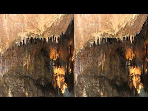 3D Video Talking Rocks Cavern YT3D Stereoscopic