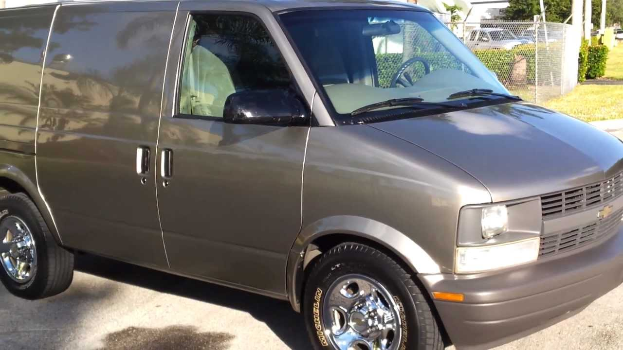 For Sale 2004 Chevy Astro Cargo Van Www Southeastcarsales