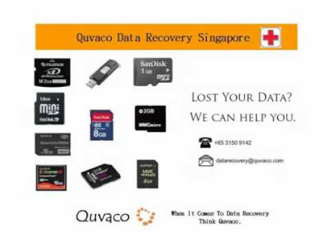 Flash Drive Data Recovery Service Centre Singapore - Quvaco Data Recovery Singapore