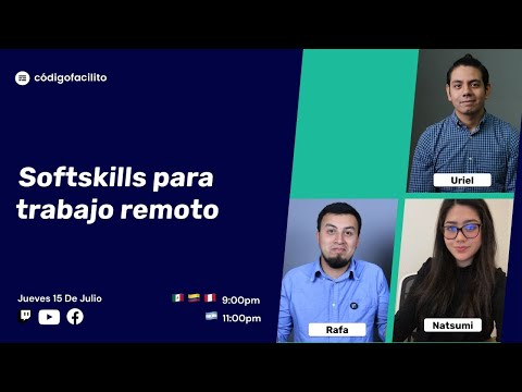 Central: Softskills para trabajo remoto
