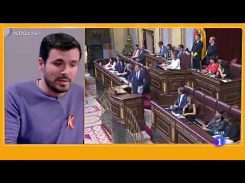 """Entrevista a Alberto Garzón en """"Los desayunos de TVE"""" (La 1 06.10.2016)"""