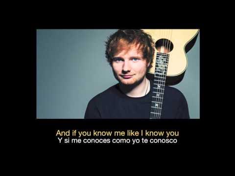Ed Sheeran - Friends HD (Sub español - ingles)