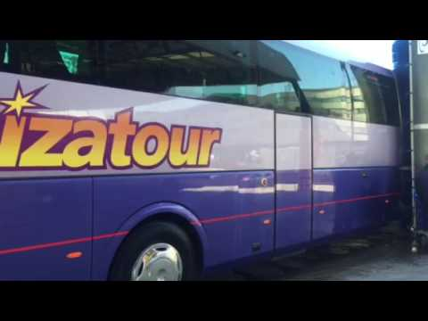 Lavado de Autobuses en Barcelona con Monocepillo