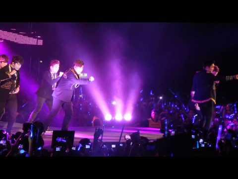 Super Junior SShow 5 Argentina 2013 Bonamana + Supergirl HD