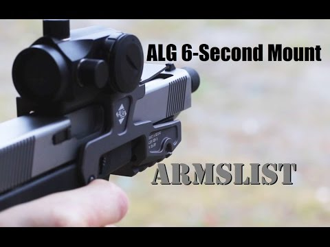 ALG 6-second Mount: Developed for Counter-Terrorism