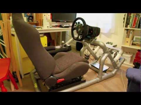 Hints Amp Tips To Diy A Pvc Sim Driving Rig Part 1 Of 5