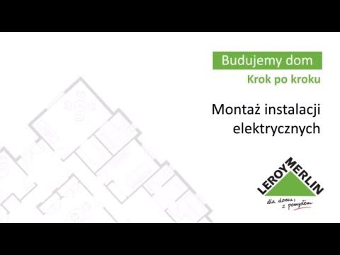 Montaż instalacji elektrycznych (27/53)