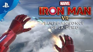 Marvel's iron man vr :  bande-annonce