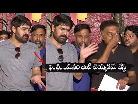 """Prakash Raj cries in front of media, Srikanth says """"It's waste to contest in MAA elections"""""""