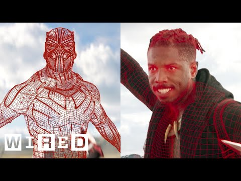 How Black Panther's Visual Effects Were Made | WIRED