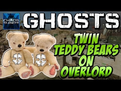 "COD Ghosts - ""SECRET TWIN TEDDY BEARS LOCATION"" On OVERLORD (Call Of Duty Easter Eggs) - Smashpipe Games"