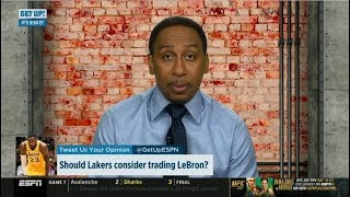 "Stephen A. Smith ""heartbreaking"": Should Lakers consider trading LeBron James? 
