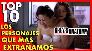 Grey's Anatomy : Los 10 personajes que más extrañamos (Spoilers)  - Top Ten #42  Popcorn News