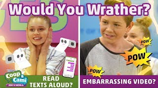Embarrassing Video or Texts Read Aloud? | Coop & Cami Ask the World | Disney Channel