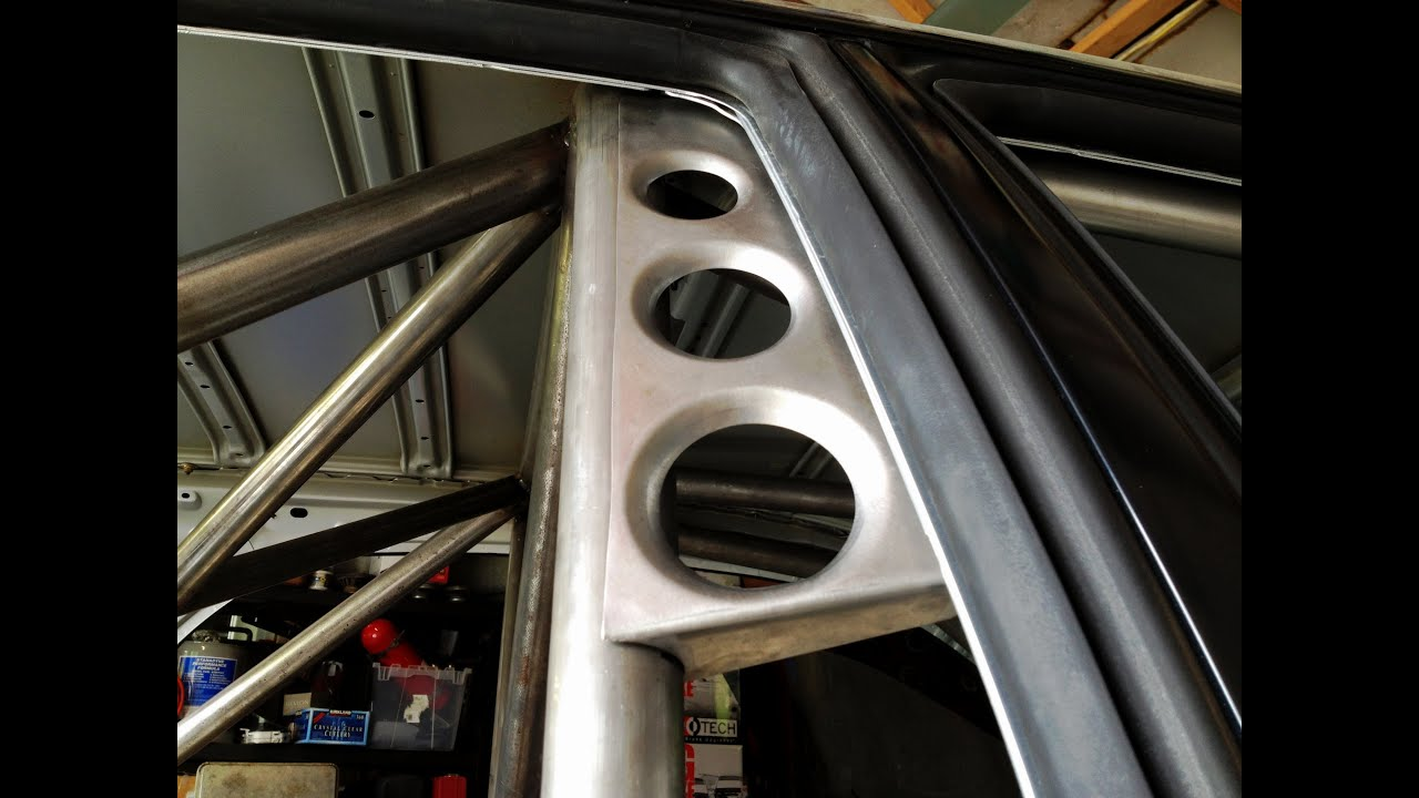 Wrx Wagon Custom Roll Cage Making A Dimple Die Gusset
