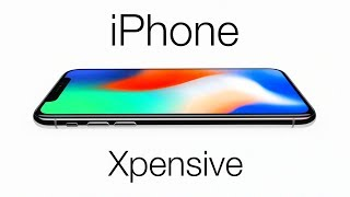 Introducing the iPhone Xpensive - Parody