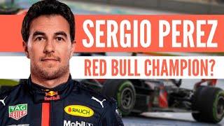 Can Sergio Perez be a world champion with Red Bull?