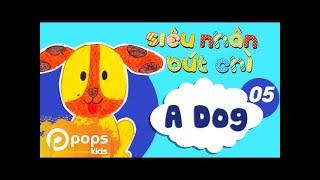 Hướng Dẫn Vẽ Con Chó - Siêu Nhân Bút Chì - Tập 5 - How To Draw A Dog