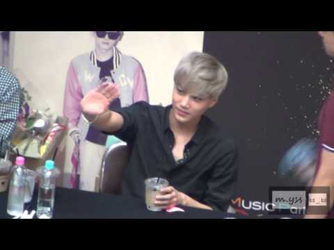 [m.yss] Kai - Yeouido Fansign 08172013  All about him