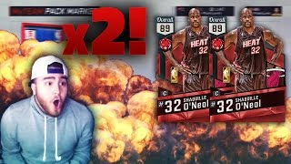 2 RUBY PULLS!!! SHAQ I NEED YOU!!! NBA 2K17 MyTeam Pack Opening
