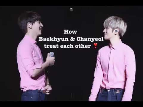 [CHANBAEK] How Baekhyun and Chanyeol treat each other