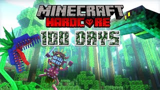 I Survived 100 Days In The Amazon Rainforest On Minecraft... Here's What Happened