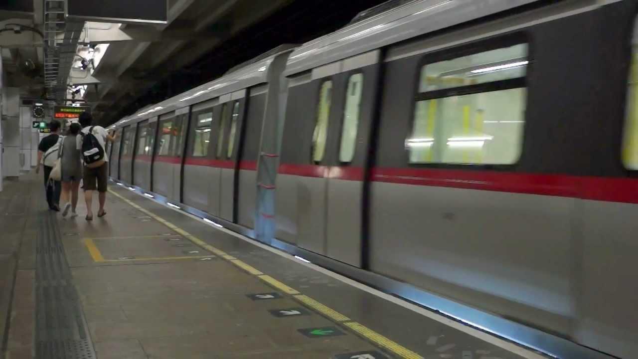 MTR C-train (港鐵中國長春列車): Arrival and Departure (Shadow Run