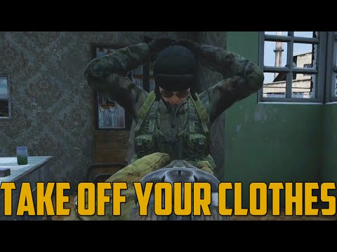 TAKE OFF YOUR CLOTHES! (DayZ Standalone) - GoldGloveTV  - M03N-ILfl2Q -