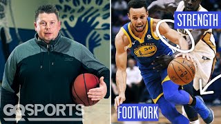 Every Exercise Steph Curry's Trainer Makes Him Do | GQ Sports