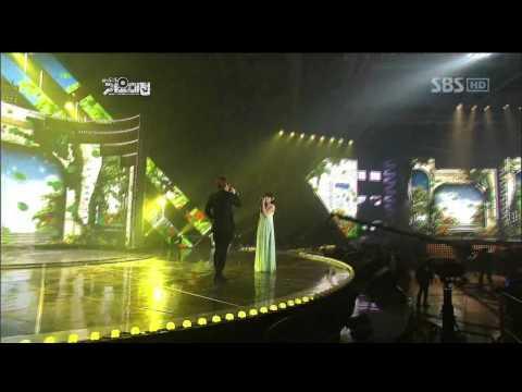 Kwill&Tiffani - A whole new world @SBS MUSIC FESTIVAL 가요대전 20111229