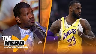 Rob Parker criticizes LeBron for frustrations with Lakers, Brandon Ingram's future | NBA | THE HERD