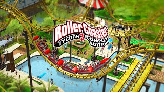 ULTIMATE PARK BUILDER Roller Coaster Tycoon 3 Complete Edition - New PC VERSION IS BEST GAME EVER