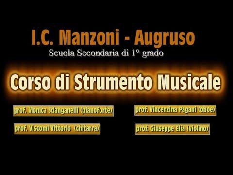 Classe di Strumento Musicale - Istituto Comprensivo Manzoni Augruso di Lamezia Terme -