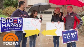 Meet 2 Pittsburgh Families Who Stay Friends Despite Different Political Beliefs   TODAY