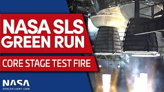 SLS Green Run Hot Fire Test #2 and Super Heavy Booster Stacking
