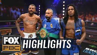 Anthony Dirrell & Kyrone Davis battle to split-decision draw | HIGHLIGHTS | PBC ON FOX