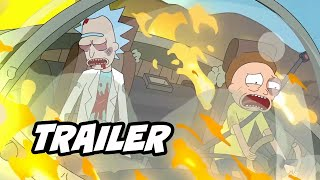 Rick and Morty Season 5 Trailer 2021 Breakdown and Easter Eggs