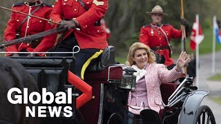 Governor General welcomes president of Croatia for first official state visit to Canada