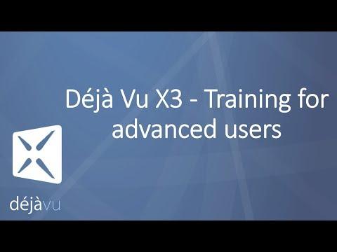 Déjà Vu X3 Training for advanced users - Proz Webinar